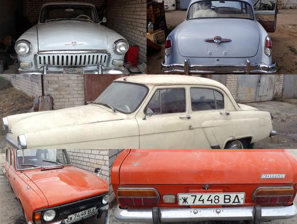 Волжанин коллекционирует винтажные автомобили