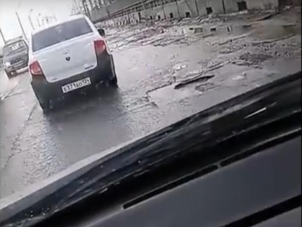 Дорога через плотину Волжской ГЭС заставила автоледи обратиться к властям региона
