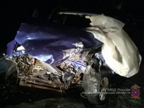 Маленький ребенок пострадал в страшной аварии под Волжским