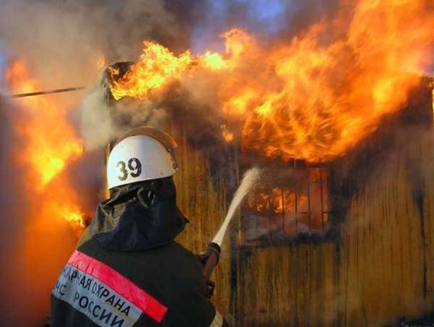 Страстная пятница началась для краснослободцев с пожара