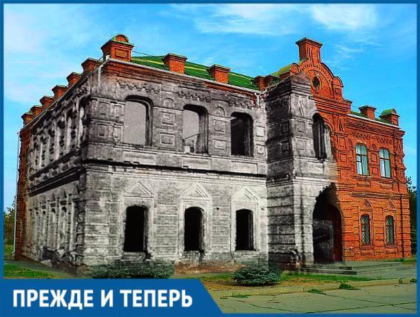 Здание Старой школы восстанавливали из пепелища