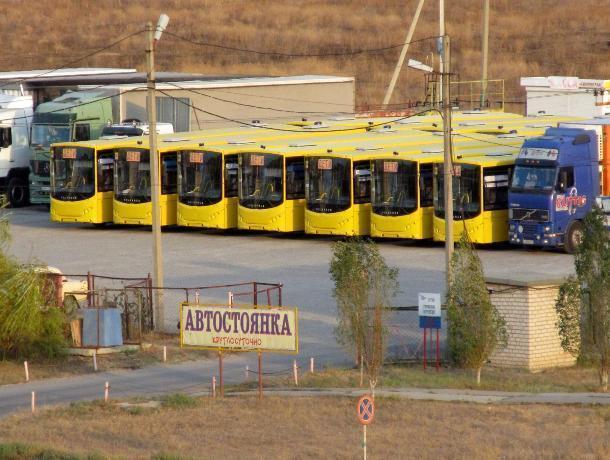 Волжане сделали фото автобусов, которые ждут отправки в другие регионы