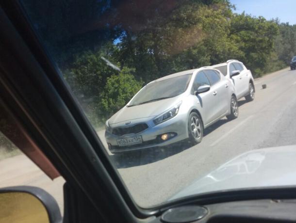 На трассе «Волжский-Краснослободск» столкнулись две иномарки