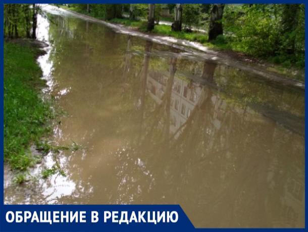 «После каждого дождя образуется потоп», - волжанин