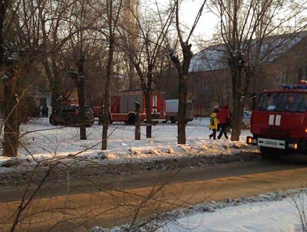 ВВолжском потушили пожар внаркологической клинике