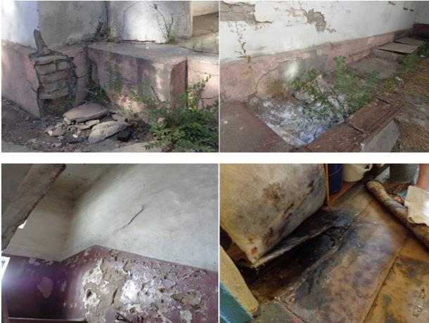 Жильцы ветхого многоквартирного дома хотели свалить вину на «воображаемую» УК в Волжском