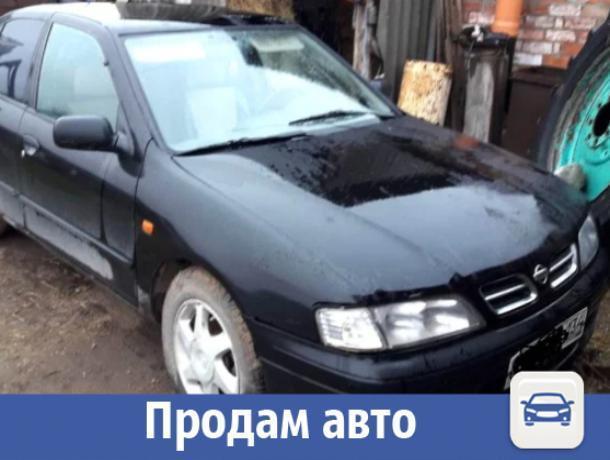 Черный Nissan Primera продают недорого в Волжском