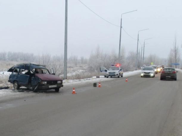 Лобовое столкновение произошло на Среднеахтубинской трассе