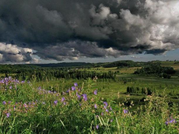 Понедельник в Волжском будет жарким, но облачным