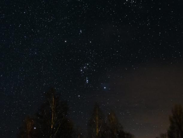 Волжане увидят звездопад в созвездии Ориона
