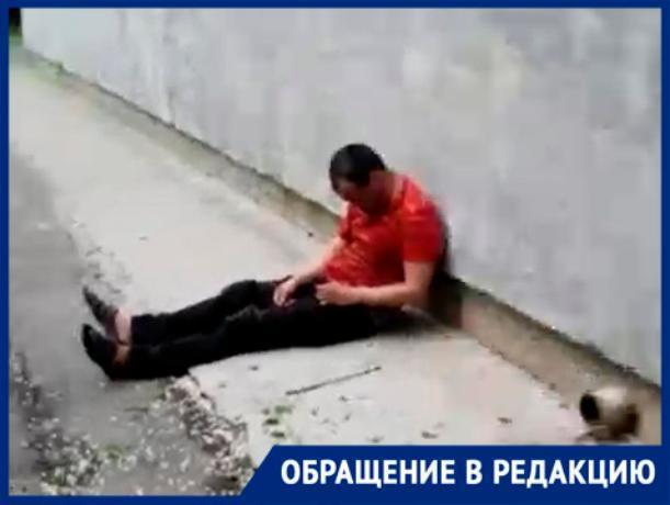 «Сбоку школы обнаружили «тело», - волжанин