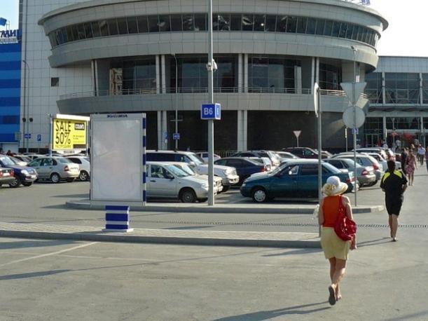 20-летняя волжанка пострадала в аварии на парковке ТЦ