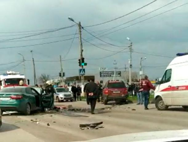 По вине пьяного водителя на дороге произошло «месиво» из машин