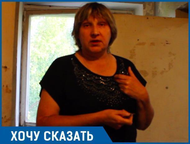Управленцы не хотят менять стояк даже за наши деньги, - жительница общежития на Машиностроителей Ирина Карандеева