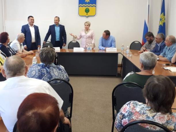 Ирина Гусева рассказала жителям Волжского о своей работе в Государственной думе