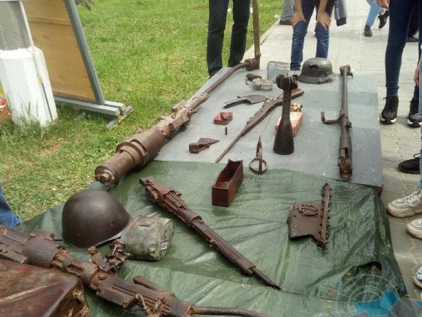 Отголоски военного прошлого: при раскопках найдены уникальные экспонаты