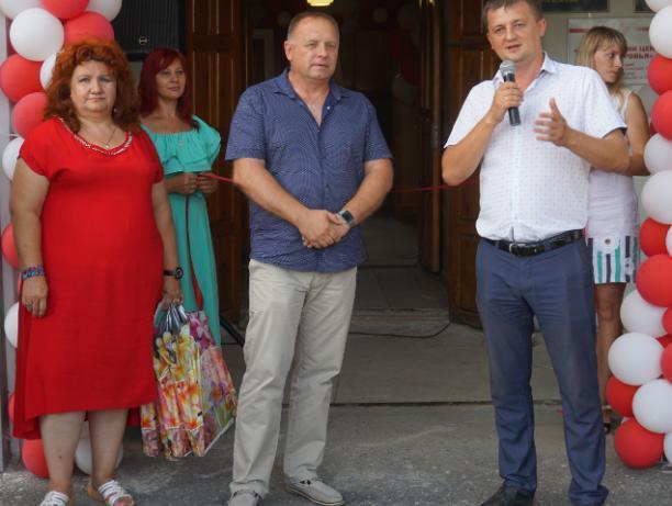 Концертной программой открыли медицинский центр в Волжском