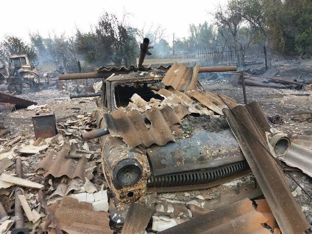Единовременные выплаты волжанам, чьи дома сгорели дотла, не превысят и 50 тысяч рублей