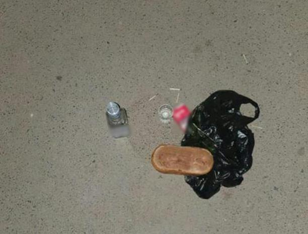 Волжанка провела «черный ритуал» прямо на улице