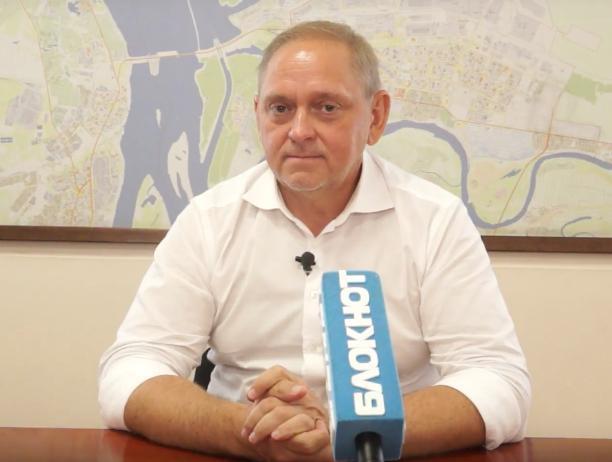 Мэр Волжского Игорь Воронин рассказал о причинах плохой экологии