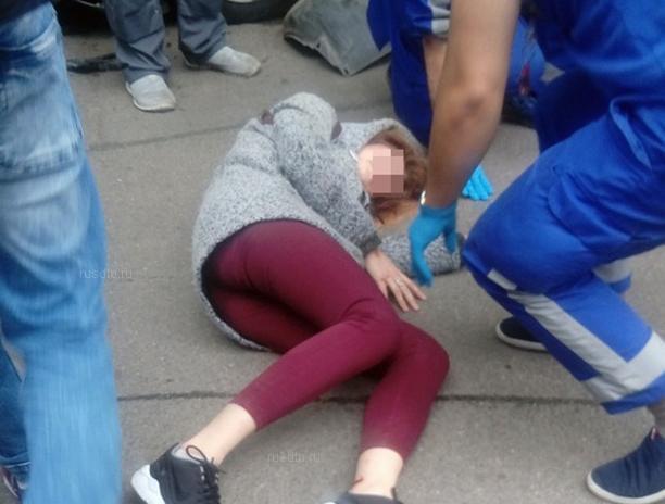 Девушка пострадала в ДТП