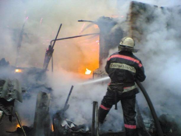 Неизвестные подожгли личный дом вВолжском