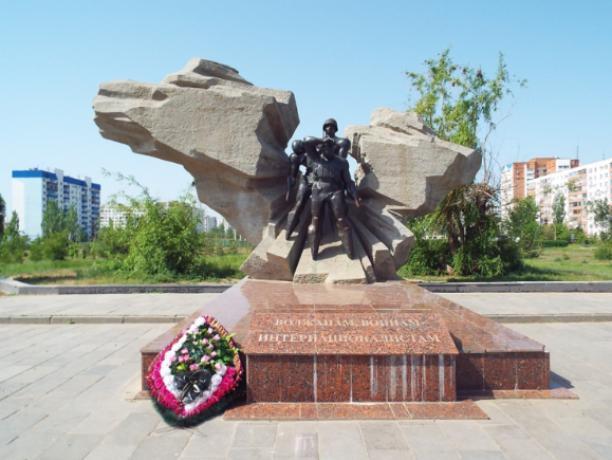 Памятники Волжского - что показать гостям города
