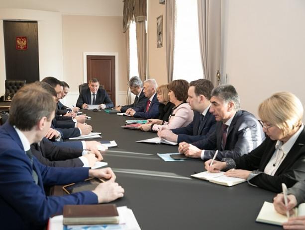Губернатор области подвел итоги 2018 года