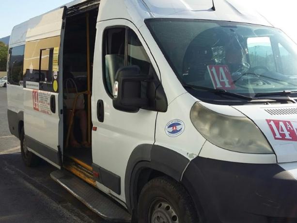 Пассажиры маршрутки пострадали в ДТП