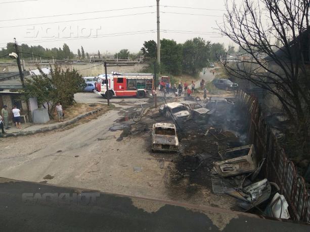 Пятьдесят гектаров земли сгорело за сутки в Волжском