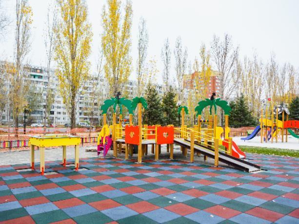 В центре города отметят открытие детской площадки