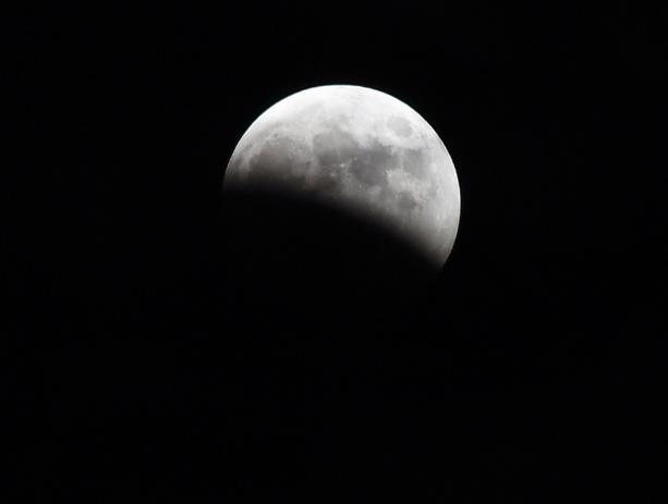 Волжан ожидает частичное лунное затмение