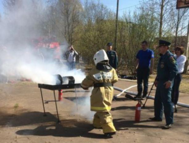 Волжане показали «класс» на соревнованиях по пожарно-прикладному спорту