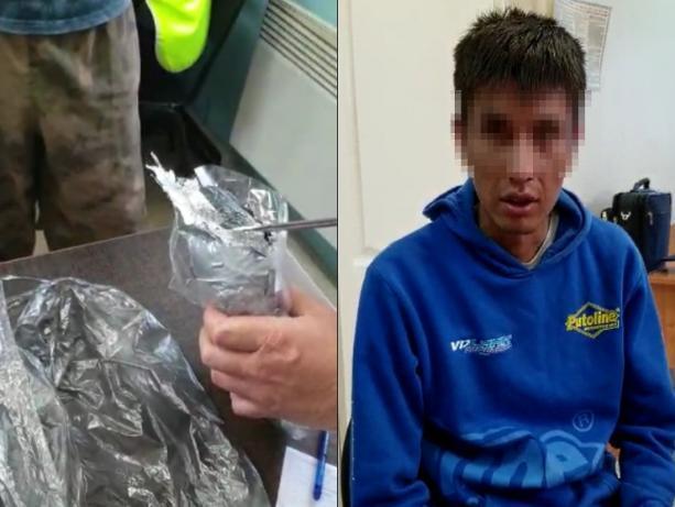 Московского таксиста задержали в области с килограммом наркотиков