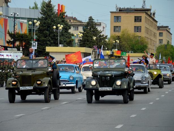 Легенды советского автопрома проследуют по главной улице Волжского