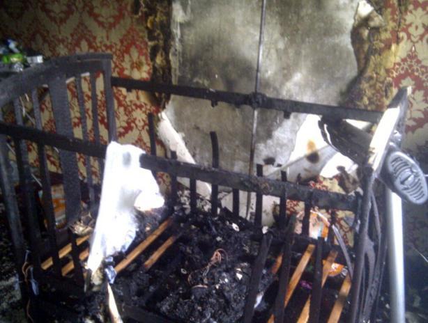 Сгоревшие дети под Волжским находились в доме одни