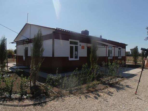 В Средней Ахтубе завершилось строительство нового ФАПа