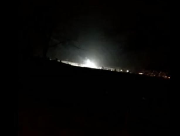 Непонятное свечение на Волжской ГЭС напугало горожан