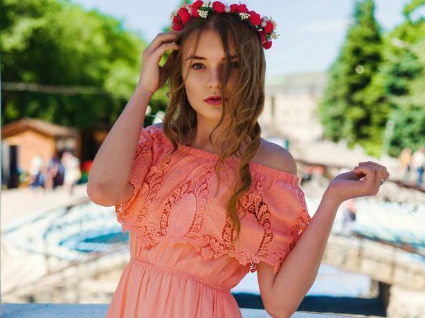 Целеустремленная Любовь Дудина пробует свои силы в конкурсе «Мисс Блокнот Волжский»