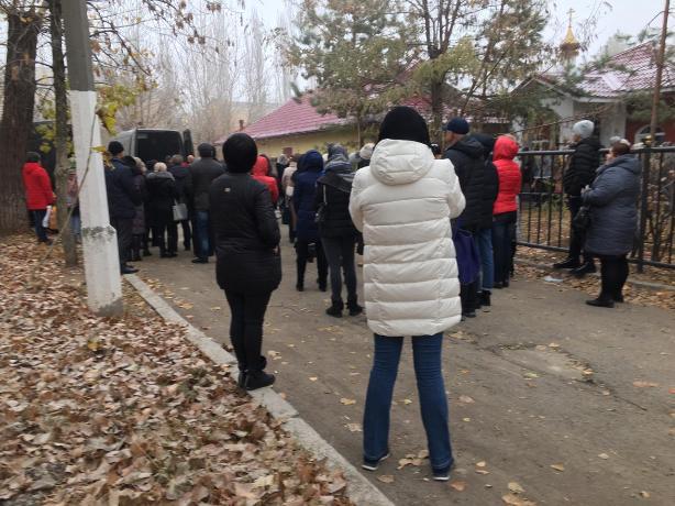В Волжском состоялось прощание с Яниной Палирус и Александром Пупыревым