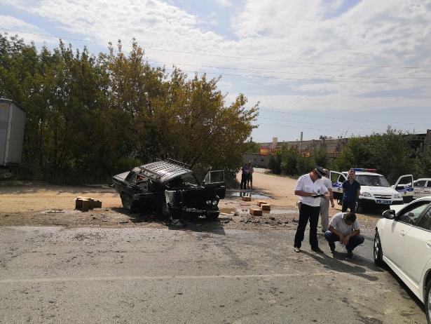 После ДТП на Александрова водитель «шестерки» оказался в реанимации