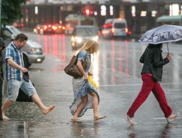 Легкий дождь будет в теплый пятничный день