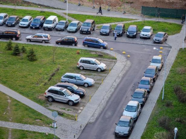 Парковку во дворе многоквартирного дома можно узаконить