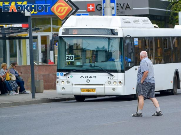 Горе-пешеход попал под колеса автобуса