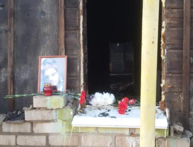 Стали известны подробности пожара, в котором погибла многодетная мать