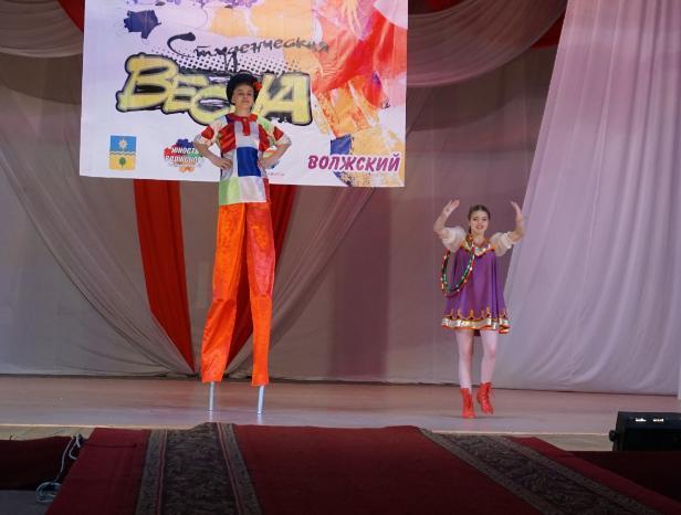 Творческая молодежь поборется за гран-при в фестивале «Студенческая весна» в Волжском