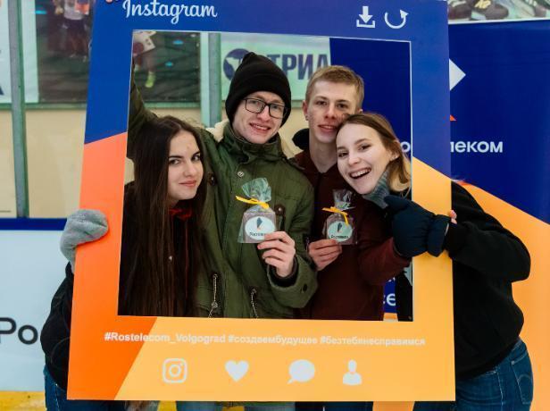 «Ростелеком» выступил партнером праздничного мероприятия «Татьянин лёд»