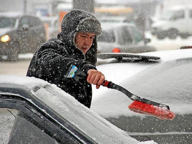 На Волжский обрушится сильнейший снегопад