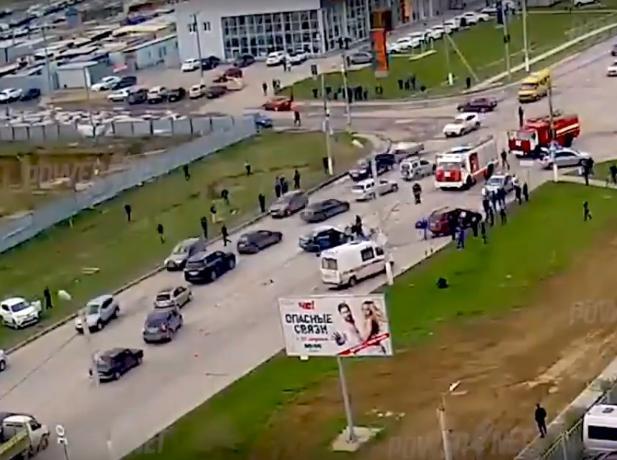 Видео погони в Волжском за пьяным «шумахером»