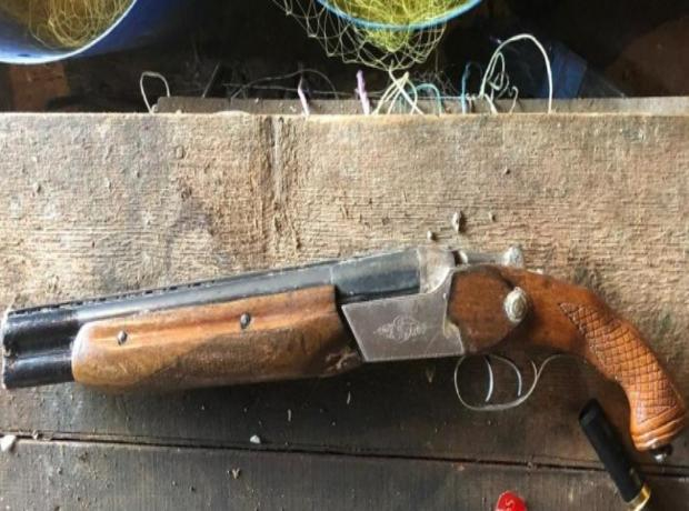 Сотрудники полиции нашли у мужчины «мини-ружье»